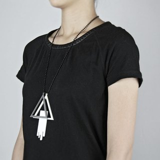 Geometry Necklace / geometric necklace series