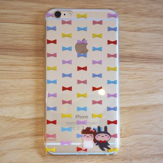 "YanComic continually multiply DISENO iPhone 6 / 6s Phone Case (bow ""bow tie"" paragraph)"