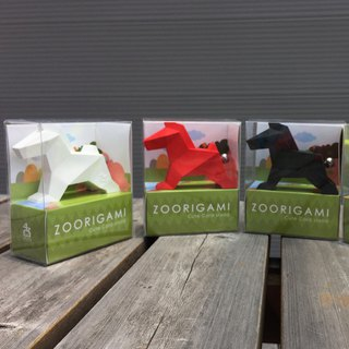 Origami Zoo ZOORIGAMI Horse (pinkoi limited with color patterned needle)