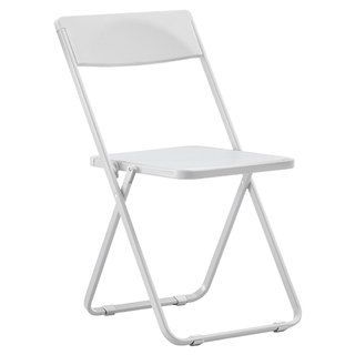 SLIM chair commander _ thin Folding Chair / white (only commodity distribution Taiwan)
