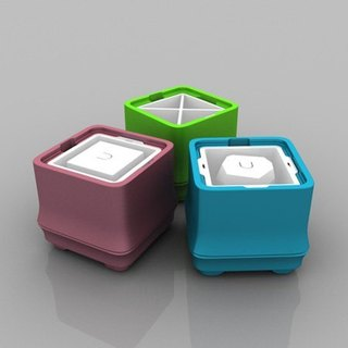 POLAR ICE Polar Ice Box Fang Bamboo Series New Color - Three Value Groups (square + angle ice + triangle)