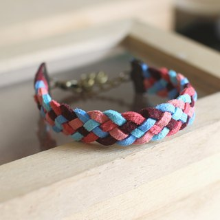 hand made bracelet-- korean synthetic leather【Venice】