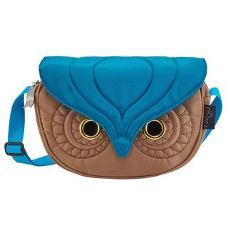Morn Creations Owl genuine dual-use package - brown (SB-203-BR)
