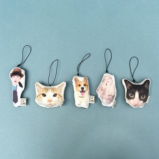 【FunPrint】(Customize) drop ornament *5