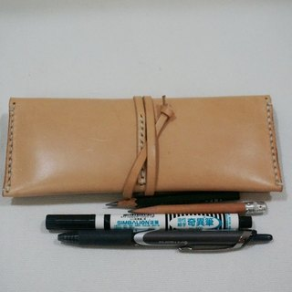 Original leather pen with unstained