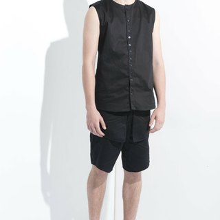Sevenfold * Special Flap Shorts (No Pockets) (Black) special flap shorts (no pockets) (Black)