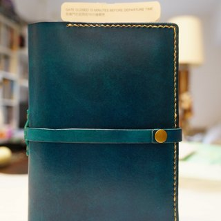 Neutral leather passport
