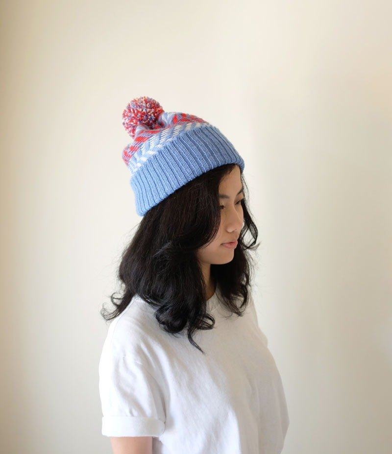 Studio Chiia design   Hand Knit Handmade Woolen Cap - Designer studio chiia   ce7cc4bcf76