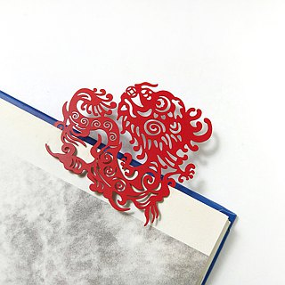 MARK TAIWAN Mai Mai Festival - Longyun Hengtong metal bookmark