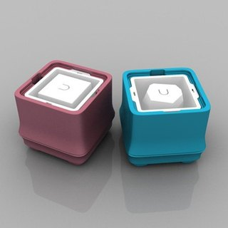 POLAR ICE Polar Ice Box Square Bamboo Series New Color - Double Value Set (Square + Angular Ice)