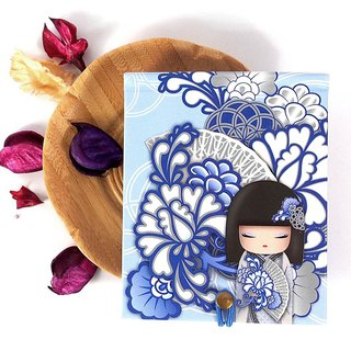 Notepad 85 pages with mirror - Kyoka Goodwill [Kimmidoll Notepad/Diary Book]