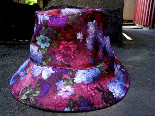 MaryWil wild hat - retro purple hat child