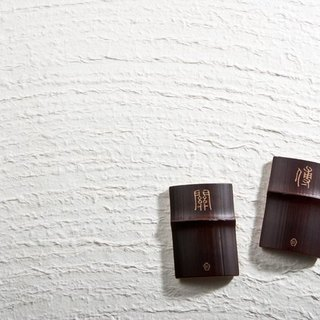 "Bamboo bamboo business card holder ""two groups of ex-gratia"""