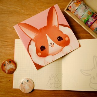 Colorful bunny * Notebook