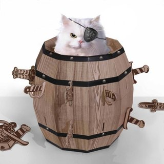 Mr.sci science factory/Cat barrel
