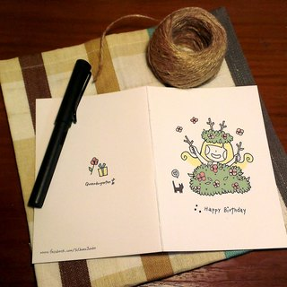 Sensensen happy day 🌲 / birthday card