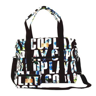 COPLAY  travel bag-brand flowers