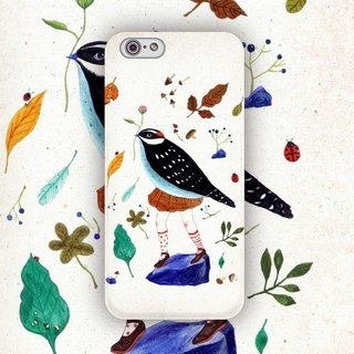 ▷ Umade ◀ spring chirp [iPhone7 (i7, i7plus, i6, i6s, i6plus, i6splus, i5se, i5s, i5c,) / Android (Samsung, Samsung, HTC, Sony) Phone Case / Accessories - matte hard shell - Artist creation] Chichi Huang