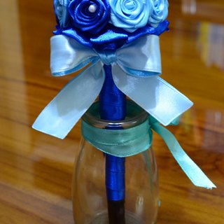 CAmelliaT camellia signature pen bouquet jewelry cat * [blue sea money] * was * sisters small wedding ceremony