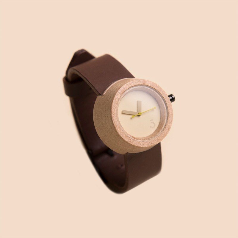 Lima Watch Pagi Maple Choco
