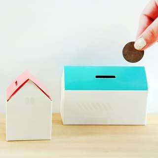 Small house box (1 large 1 small two into the pack)