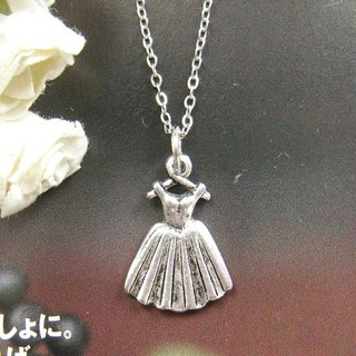 Ballet skirt necklace