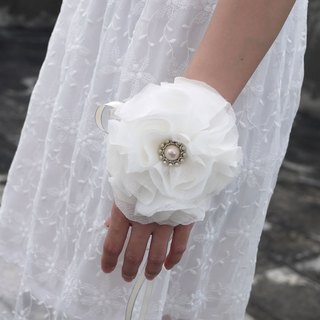 [Black Mage] models fresh and elegant flower wrist