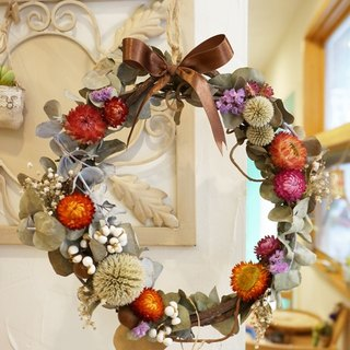 Dried wreaths - Autumnal Equinox