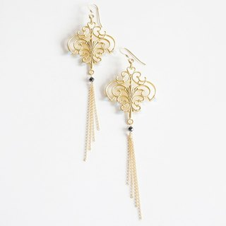 【14 KGF】 Bohemian Turkish Earrings