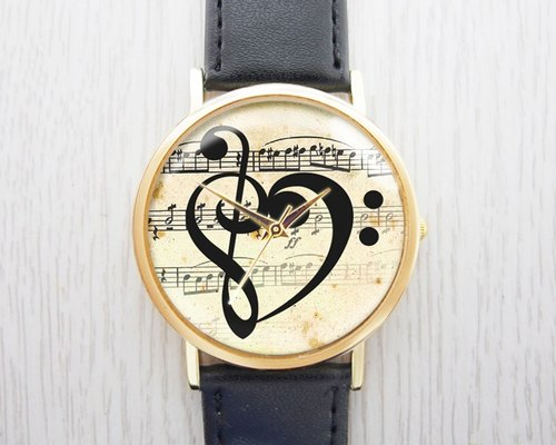 Love note - fashion leather strap watches ︱ ︱ ︱ men and women popular to wear with the best holiday gift items