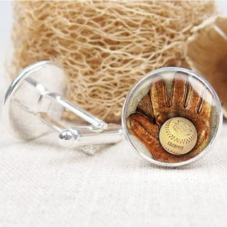 Baseball - Cufflinks / Shirt Accessories / Birthday Gifts [Special U Design]