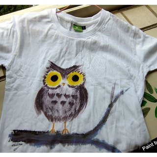 Hand-painted clothing owl brother -Winwing