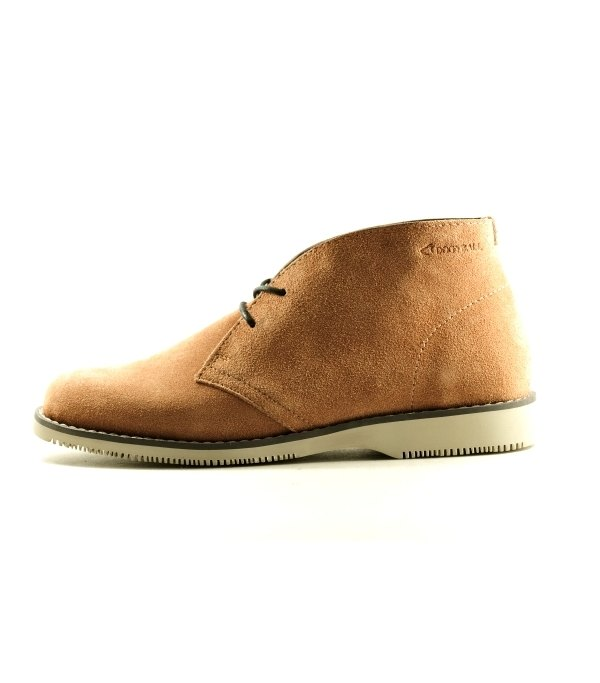 "[Dogyball] As-win water-repellent eco-friendly leather desert boots wolf brown ""ECO green shoes"""