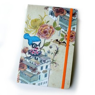 notebook. Flying Sofye Sufei Notepad. Hard leather notebook
