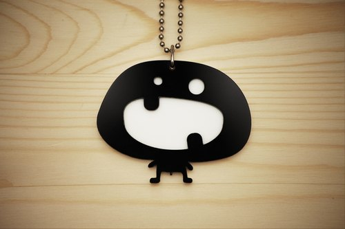 【Peej】'Naughty little Guy' Double layered Acrylic key chains/necklaces