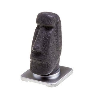 [HIPSIONG photographic groceries] shoe head -Moai stone (gray) doll shoe camera accessories