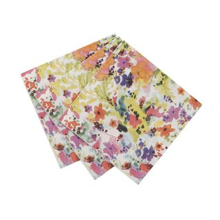 """Flower feast § colorful napkin"" Britain Talking Tables Party Supplies"