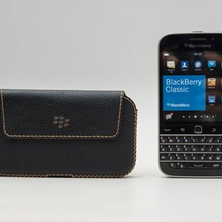 BlackBerry Classic leather hand power holster - making orders