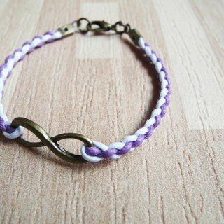 Unlimited (weaving section) / hand-woven bracelet