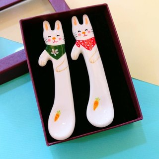 Valentine's Day gift preferred Bunny Lover Magu magic spoon