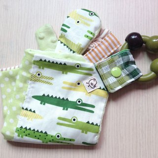 Baby appease towel - small crocodile