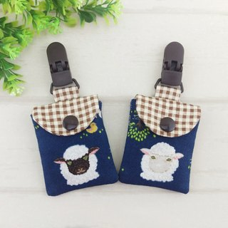 Sheep Farm - 2 colors available. Ping Fu bag (can increase embroidery name)