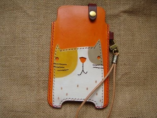 [ISSIS] handmade cute cat Mobile Phone Case