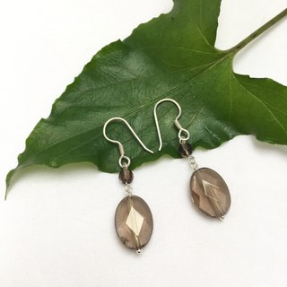 E0335 - First choice gift - Make your own home - Natural gemstone - Sterling Silver 925 Earrings