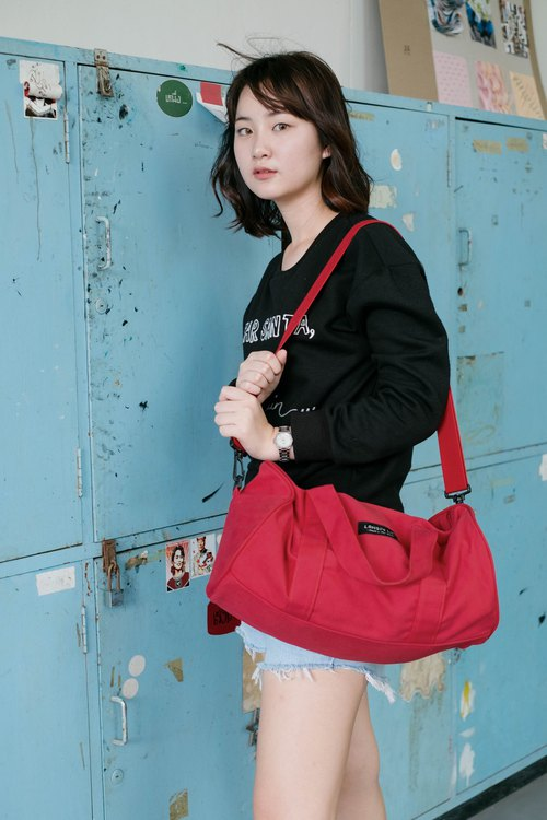 Duffle bag (Red)