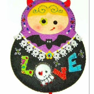 Rose evil doll card sets -LOVE