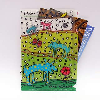 Multi-layer small folder Toko-Ton / Folder File - Yayoi Kusama