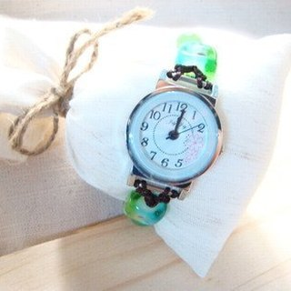 Grapefruit Forest Handmade Glass - Watches - Design Style - Patterns