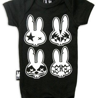 Rock Baby Rock Bunnies - baby clothing bag fart
