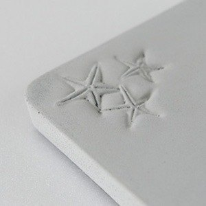KALKI'D pro cement ‧ magical absorbent coaster - [starfish]